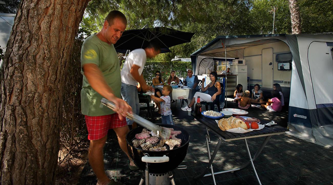 Barbacoas camping
